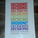 Decisions! Decisions! by Richard Strauss (1979 Vintage Paperback) Christian Book