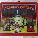 Cirque Du TOFURKY Thanksgiving Vegetarian Tofu Turkey Collectible Metal Lunchbox