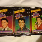 The Elvis Collection Trading Cards Series Two 3 New Unopened Packs Collectible