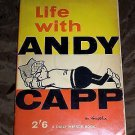 LIFE WITH ANDY CAPP #3 A Daily Mirror Book by Smythe Vintage Paperback Cartoons