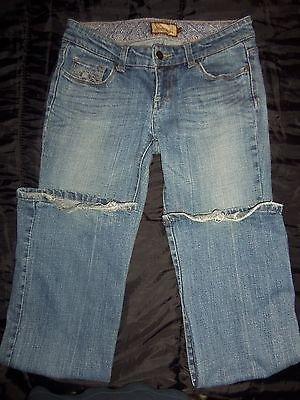 PAIGE Premium Denim Designer Bluejeans Boot Cut Jeans Women's Pants Size 27 x 32