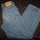 Levi Strauss 569 Loose Fit Straight Leg Denim Blue Jeans Youth Boys Sz 18 Levi's