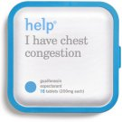 Help - I Have Chest Congestion Medicine 16 Guaifenesin Cough Expectorant 200mg
