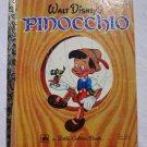 Little Golden Book: Walt Disney's Pinocchio 1977 Vintage Collectible #104-2