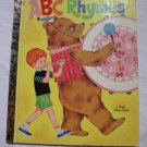 Little Golden Book: ABC Rhymes #200-33 Vintage 1979 Children's Collectible
