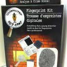 Undercover Spy Gear Fingerprint Dusting Kit Secret Detective Police Toy NEW BOX