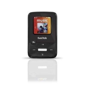 SanDisk Sansa Clip Zip 4 GB Digital player / radio - Stealth black