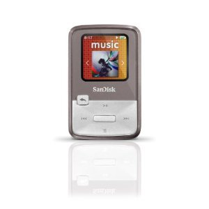 SanDisk Sansa Clip Zip 4 GB Digital player / radio - Grey