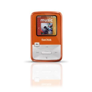 SanDisk Sansa Clip Zip 4 GB Digital player / radio - Orange