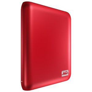Western Digital My Passport Essential SE 1TB portable USB 3.0 and 2.0 drive (Metallic Red)