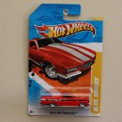 [PACKAGE ERROR] Hot Wheels 2011 HW Premiere Blvd. Bruiser (red) / '65 Ford Ranchero (red)