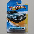 Hot Wheels 2012 HW Premiere '61 Impala (blue)