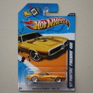 Hot Wheels 2012 Muscle Mania GM '67 Pontiac Firebird 400 (yellow - Walmart Excl Redline)