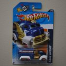 Hot Wheels 2012 HW City Works Fast Gassin' (blue - Walmart Excl) (see condition)