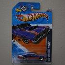 Hot Wheels 2012 Muscle Mania Mopar '68 Dodge Dart (blue - Walmart Excl Redline)