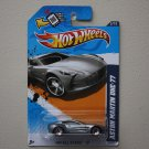 Hot Wheels 2012 HW All Stars Aston Martin ONE-77 (silver - Walmart Excl Redline) (see condition)