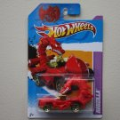 Hot Wheels 2012 Year Of The Dragon Edition Rodzilla (red)