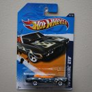 Hot Wheels 2012 Heat Fleet '70 Pontiac GTO (black)