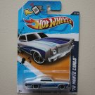 Hot Wheels 2012 Muscle Mania GM '70 Monte Carlo (silver - Walmart Excl.)