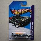 Hot Wheels 2012 Heat Fleet '70 Pontiac GTO (black)