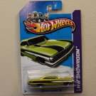 Hot Wheels 2012 Muscle Mania Ford Custom '64 Galaxie 500 (green - Kmart Excl.)