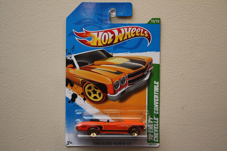 Hot Wheels 2012 Treasure Hunts '70 Chevy Chevelle Convertible