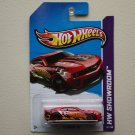 Hot Wheels 2013 HW Showroom '12 Camaro ZL1 (red) (clear red wheels variation)