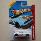 Hot Wheels 2013 HW Racing Fast Fish (turquoise) (Treasure Hunt)