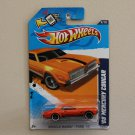 Hot Wheels 2012 Muscle Mania Ford '68 Mercury Cougar (orange)