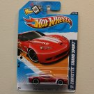 Hot Wheels 2012 HW Main Street '11 Corvette Grand Sport (red)