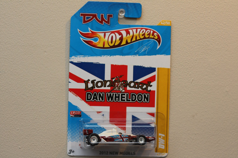 Hot Wheels 2012 New Models Dan Wheldon DW-1 (Indycar Oval Course Race Car)