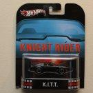 Hot Wheels 2013 Retro Entertainment K.I.T.T. Knight Rider