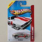 Hot Wheels 2013 HW Racing '69 Chevelle (clear / glow in the dark)