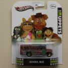 Hot Wheels 2013 Retro Entertainment The Muppets School Bus