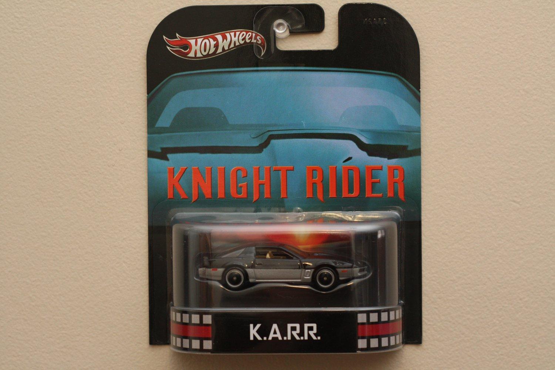 Hot Wheels 2013 Retro Entertainment K A R R  (Knight Rider)