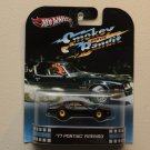 Hot Wheels 2013 Retro Entertainment Smokey And The Bandit '77 Pontiac Firebird