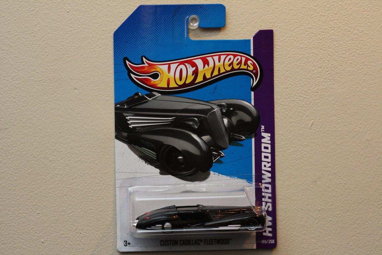 Hot Wheels 2013 HW Showroom Custom Cadillac Fleetwood (black)