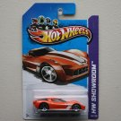 Hot Wheels 2013 HW Showroom 2009 Corvette Stingray Concept (orange)