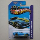 Hot Wheels 2013 HW Showroom 2009 Corvette Stingray Concept (blue - Kmart Excl.)