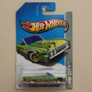 Hot Wheels 2013 HW City '64 Lincoln Continental Convertible (green) Treasure Hunt