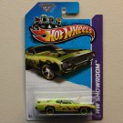 Hot Wheels 2013 HW Showroom '71 Plymouth Road Runner (green - Kmart Excl.)