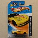 Hot Wheels 2012 HW Main Street '11 Corvette Grand Sport (yellow - Toys R Us Excl.)