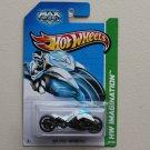 Hot Wheels 2013 HW Imagination Max Steel Motorcycle (white)