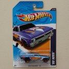 Hot Wheels 2012 HW Racing '68 Nova (blue)