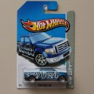Hot Wheels 2013 HW City 2009 Ford F-150 (blue)