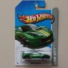 Hot Wheels 2013 HW City Lotus Evora GT4 (green)