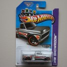Hot Wheels 2013 HW Showroom Custom '69 Chevy Pickup (ZAMAC Silver - Walmart Excl.)