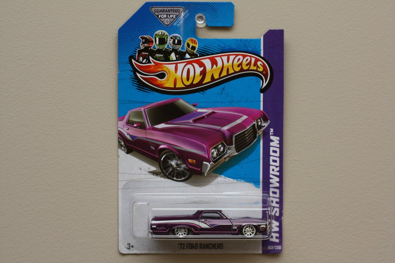 Hot Wheels 2013 HW Showroom '72 Ford Ranchero (Super Treasure Hunt) (SEE CONDITION)