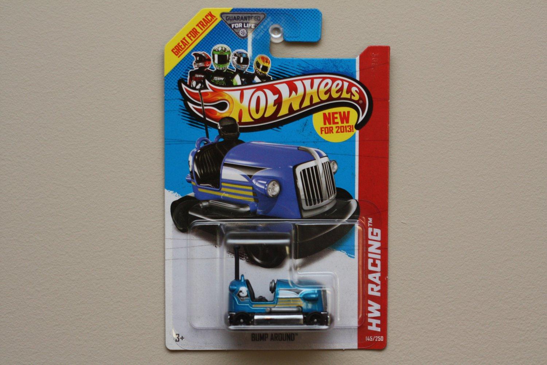 Hot Wheels 2013 HW Racing Bump Around (blue)