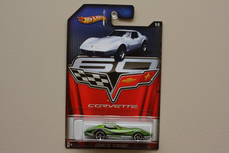 Hot Wheels 2013 Corvette 60th Anniversary Corvette Stingray
